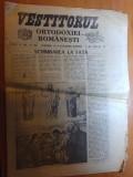 Ziarul vestitorul ortodoxiei romanesti 1-30 august 1990