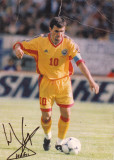 Foto  jucatorul Gheorghe HAGI echipa nationala a Romaniei