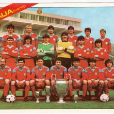 Foto fotbal echipa STEAUA BUCURESTI (dimensiuni 22.5x16 cm)