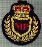 06 -EMBLEMA  COIFURA POLITIA  MILITARA - REGALISTA STREINA -starea care se vede