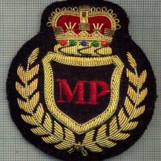 06 -EMBLEMA COIFURA POLITIA MILITARA - REGALISTA STREINA -starea care se vede - Uniforma militara