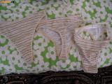 Bikini dama set de 3 bucati, producator UNICONF, masura M, NOI, Cappuccino