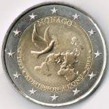 MONACO moneda 2 euro comemorativa 2013 - UNC, Europa, Cupru-Nichel