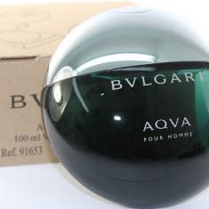 Tester Bvlgari Aqua Pour Homme Made in France - Parfum barbati Bvlgari, Apa de toaleta, 100 ml