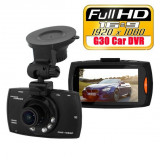 "Camera auto G30 Full HD 170° Novatek 2.7"" NightVision, G-sensor, Senzor miscare - Camera video auto Novatek, 32GB, Normal, Senzor imagine MP CMOS: 5, miniUSB"