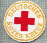 28 - EMBLEMA CRUCEA ROSIE -ROTES KREUZ- GERMANIA -MILITARA? -starea care se vede
