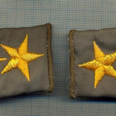 11 - PERECHE DE EPOLETI, OFITER SUPERIOR, ARMATA - TURCIA -starea care se vede - Uniforma militara
