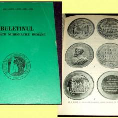 Buletinul Societatii Numismatice Romane 1983-1985, studii numismatica, monede