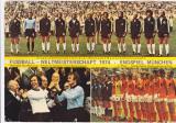 Foto echipa de fotbal - GERMANIA campioana mondiala 1974 (dimensiuni 21x15 cm)