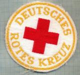 27 - EMBLEMA CRUCEA ROSIE -ROTES KREUZ- GERMANIA -MILITARA? -starea care se vede