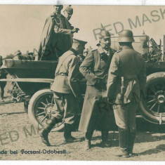 1478 - Vrancea, FOCSANI-ODOBESTI, old car, German Army - real PHOTO - unused - Carte Postala Moldova dupa 1918, Necirculata, Fotografie