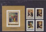 Romania  Socfilex pictura serie + ciolita  , nr lista 827 826
