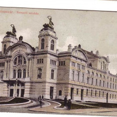 CLUJ-KOLOZSVAR-Carte Postala -Levelezo Lap, expediata Copsa Mica 1914 059 - Carte Postala Transilvania 1904-1918, Circulata, Fotografie