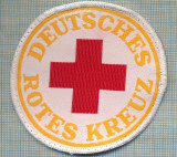 26 - EMBLEMA CRUCEA ROSIE -ROTES KREUZ- GERMANIA -MILITARA? -starea care se vede