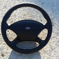 Volan piele cu airbag Ford Focus 1 stare FOARTE BUNA, FOCUS (DAW, DBW) - [1998 - 2004]
