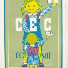 bnk cl Calendar de buzunar 1986 CEC