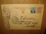 CARTE POSTALA MILITARA CIRCULATA ANUL 1936  1, Printata