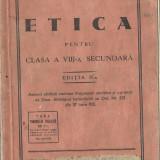 Traian Braileanu - Etica - Carte veche