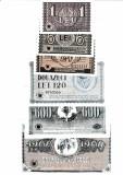Cumpara ieftin Romania 1, 6, 24, 120, 600, 1200 Lei 1941  Bonuri Infinex  Reproduceri