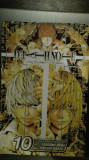 Manga benzi desenate Death note 10 by Ohba & Obata the artist of Hikaru no go !