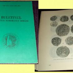 Buletinul Societatii Numismatice Romane 1981-1982, studii numismatica, monede