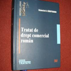Tratat De Drept Comercial Roman - Stanciu D. Carpenaru - Carte Drept comercial