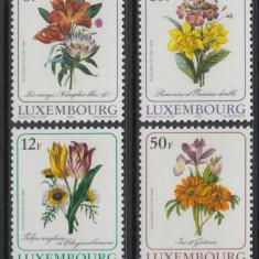 Luxemburg 1988 9 Euro flori - serie nestampilata MNH - Timbre straine