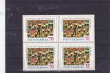 Romania  pionieri bloc de 4  , nr lista 844.