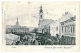 1773 - Maramures, SIGHET, Market - old postcard - used - 1901, Circulata, Printata