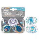 Tommee Tippee - Suzete Style 3 - 9 Luni X 2 Buc, Tommee Tippee