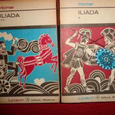 Iliada 2 volume (traducere -G.Murnu/ an 1973/520pag- Homer - Roman