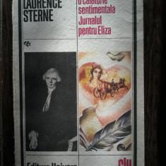 Laurence Sterne - O calatorie sentimentala - Jurnalul pentru Eliza