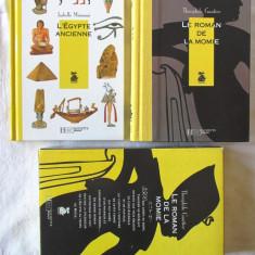 LE ROMAN DE LA MOMIE, Theophile Gautier + L'EGYPTE ANCIENNE, I. Mimouni, 1995 - Carte in franceza