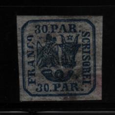 1862 l.p. 10 conditie perfecta, Nestampilat