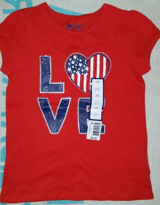 Bluza fete 5-6 ani, made in Thailand, rosie, 100% bumbac,  noua foto
