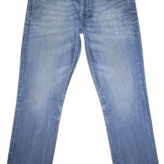 Blugi URBAN DISTRICT - (MARIME: 34 x 32) - Talie = 88 CM, Lungime = 108 CM - Blugi barbati, Culoare: Albastru, Prespalat, Drepti, Normal