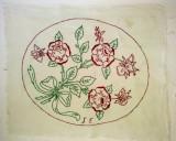 Cusatura manuala ornamentala - netivita - tematica vegetala