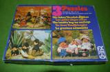 3 puzzle-uri  Monchhichi de 120 buc fiecare, complete, vintage,Kiki