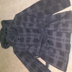 Palton femei super calitate + cadou - Palton dama, Marime: L, Culoare: Albastru