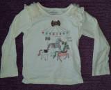 Bluza fete 4-5 ani, de la Wonderkids, bumbac si poliester, ca noua
