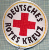 32 - EMBLEMA CRUCEA ROSIE -ROTES KREUZ- GERMANIA -MILITARA? -starea care se vede