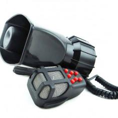 Sirena 7 melodii cu microfon 80W (nu are functie de VOCE ) - Sirena Auto