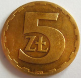 Moneda 5 Zloti - POLONIA, anul 1976 *cod 2525