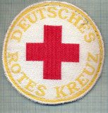 36 - EMBLEMA CRUCEA ROSIE -ROTES KREUZ- GERMANIA -MILITARA? -starea care se vede