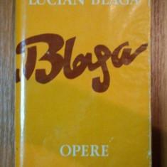 OPERE, VOL.6, HRONICUL SI CANTECUL VARSTELOR-LUCIAN BLAGA, BUC.1979 - Roman