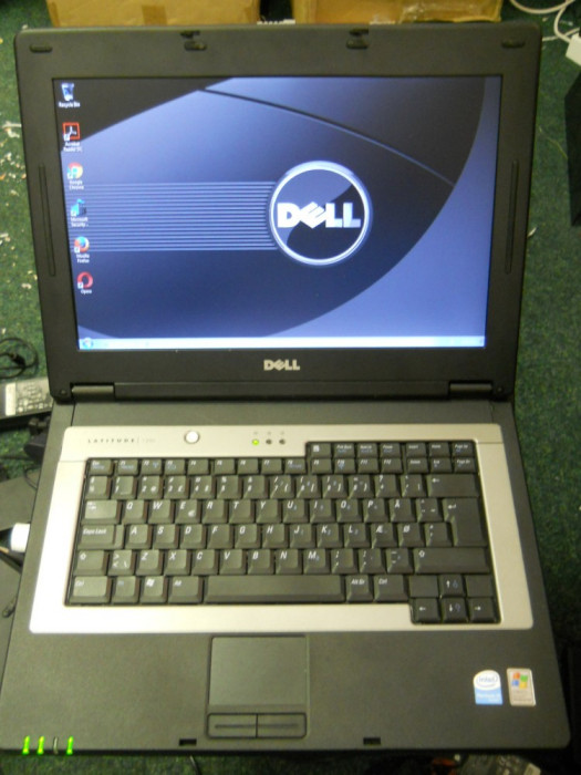 "Laptop Dell Latitude 120L 14.1"" Intel Pentium M 1730 MHz, HDD 40 GB, 2 GB DDR2 foto mare"