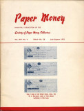Cumpara ieftin REVISTA SUPLIMENT LA CATALOGUL WORLD PAPER MONEY -  Nr.58 IULIE/AUGUST 1975