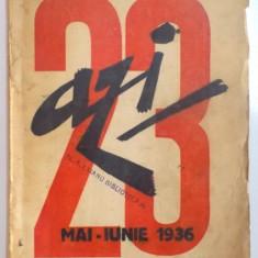 REVISTA ''AZI'', NR. 23, MAI - IUNIE 1936