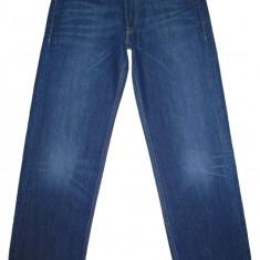 LEVI'S 509 COMFORT (LARGI) - (MARIME 32 x 34) - Talie = 89 CM, Lungime = 112 CM - Blugi barbati Levi's, Culoare: Albastru, Prespalat, Normal