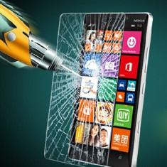 FOLIE STICLA SECURIZATA NOKIA LUMIA 830 TEMPERED GLASS - Folie de protectie Nokia, Anti zgariere